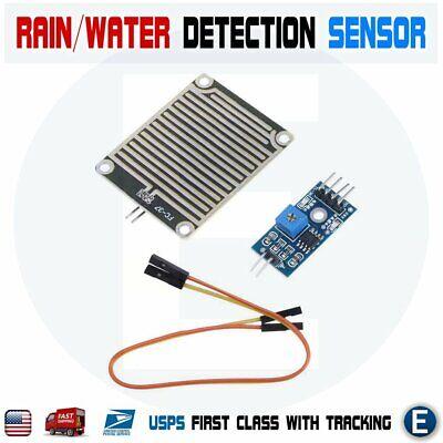 Snowraindrops Detection Sensor Module Rain Weather Module Humidity Water