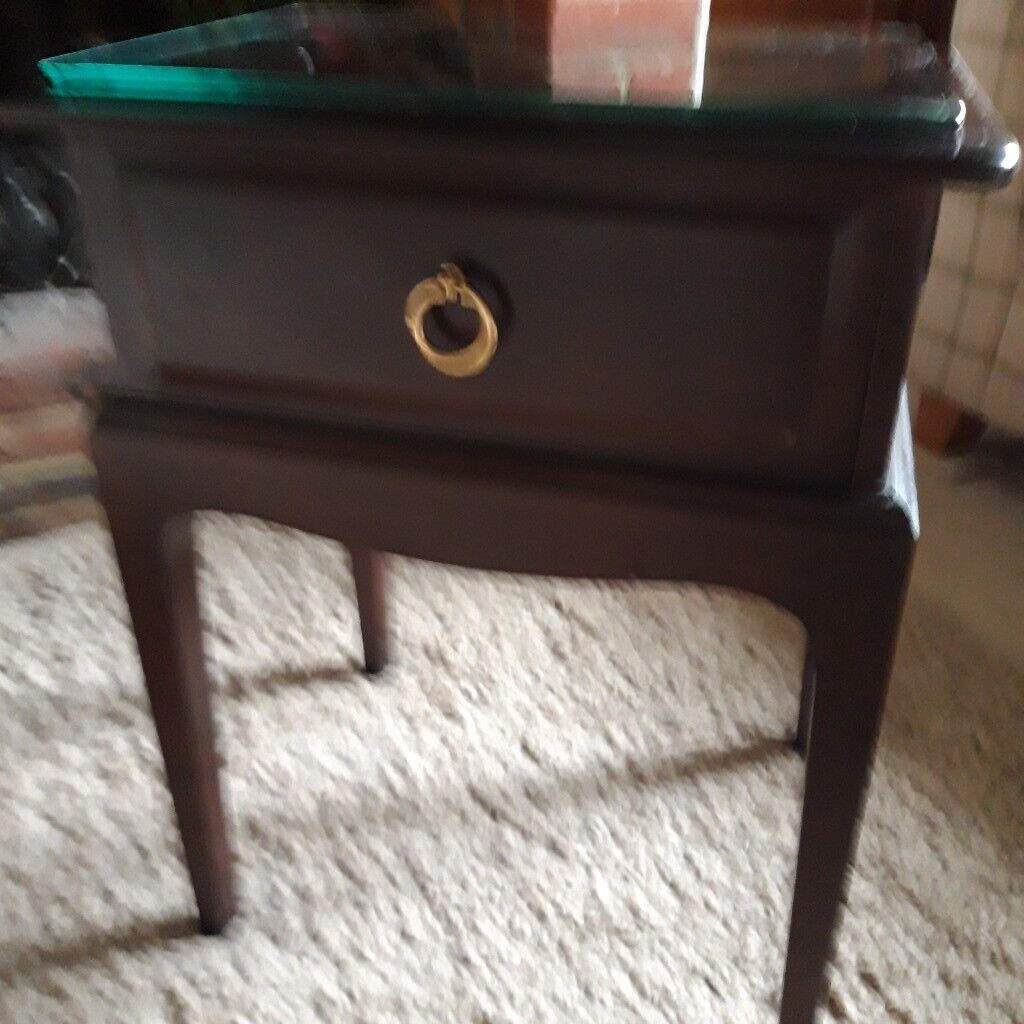 Small Dark Wood Side Table With Drawer In Henfield West Sussex Gumtree