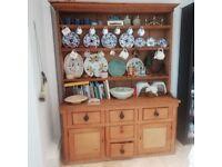 Fruit wood Welsh dresser