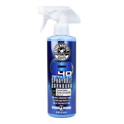 Chemical Guys P40 Quick Detailer Spray mit Carnauba Wachs 473ml