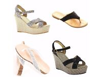 WOMENS SHOES - WEDGES, FLIPFLOPS, SANDALS, TRAINERS