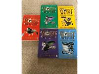 Jill Murphy children's books collection. The worst witch
