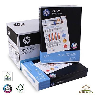 HP PAPER A4 WHITE 80GSM 2500 SHEETS PRINTER COPIER