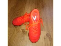 Kids Adidas X16 football astro turf boots in orange. Size10 worn ONCE