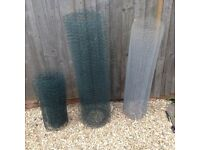 Fencing chicken / rabbit wire mesh