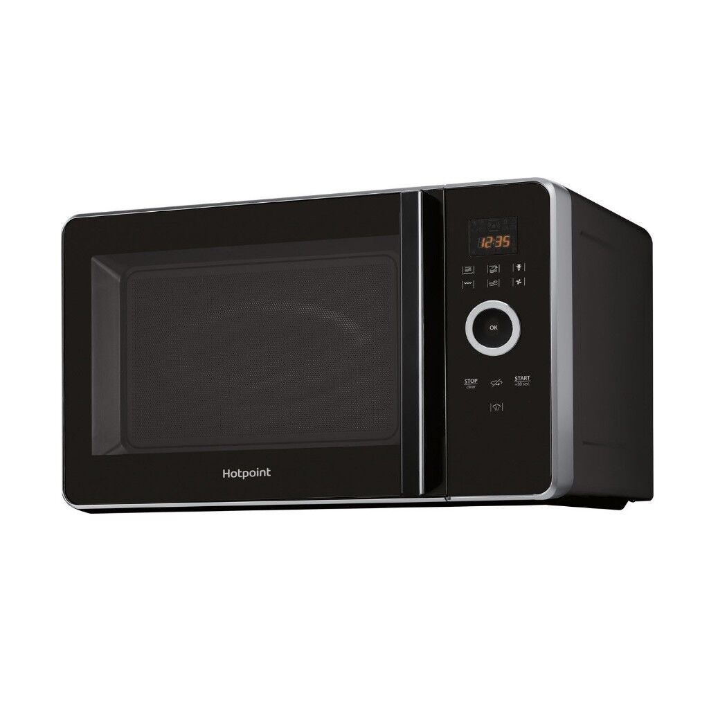 Hotpoint Mwh30243b Ultimate Collection 1000 Watt Microwave Black New Boxed