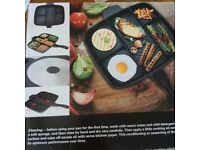 5 in 1 Multi Grill Pan - brand new!