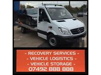 24/7 RECOVERY SERVICES 07492 888 888 BREAKDOWN