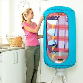 Extremely quite Dri Buddi clothes dryer- excellent condition