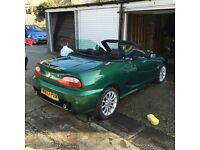 Mg tf 135 British racing green