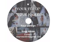 Wedding / Event/ Party's/ Memories into DVD or CD