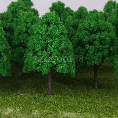 25 Model Trees N Scale Model Train Railroad Architecture Diorama Scene 1 150
