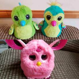 Hatchimal x2, furby connect