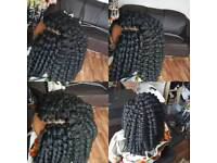 Afro Caribbean and European, Africans hair beauty service