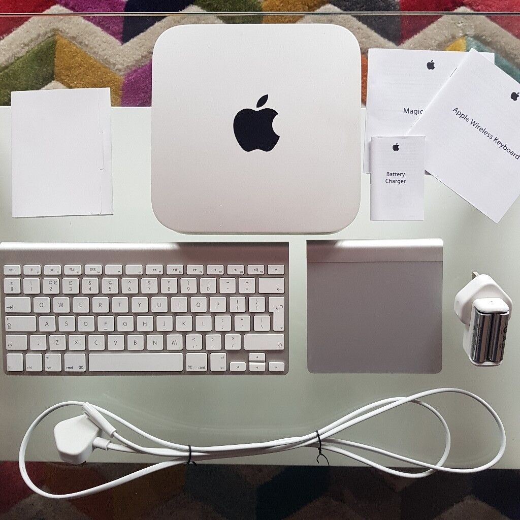 quality design 29954 a308c Mac Mini with Apple wireless keyboard, wireless track pad and rechargeable  battery pack | in Hoo, Kent | Gumtree