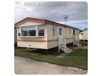 Caravan rental 8 berth on Ty Mawr Towyn