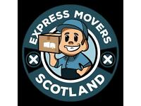 Express Movers Scotland. Highest quality home removal services at a low price