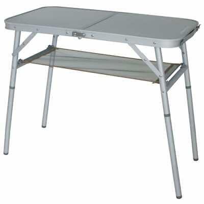 Eurotrail Camping Table Aluminium Camp Foldable Folding Portable Outdoor Desk