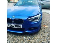 BMW 135i with brand new engine decats mapped to 392 bhp