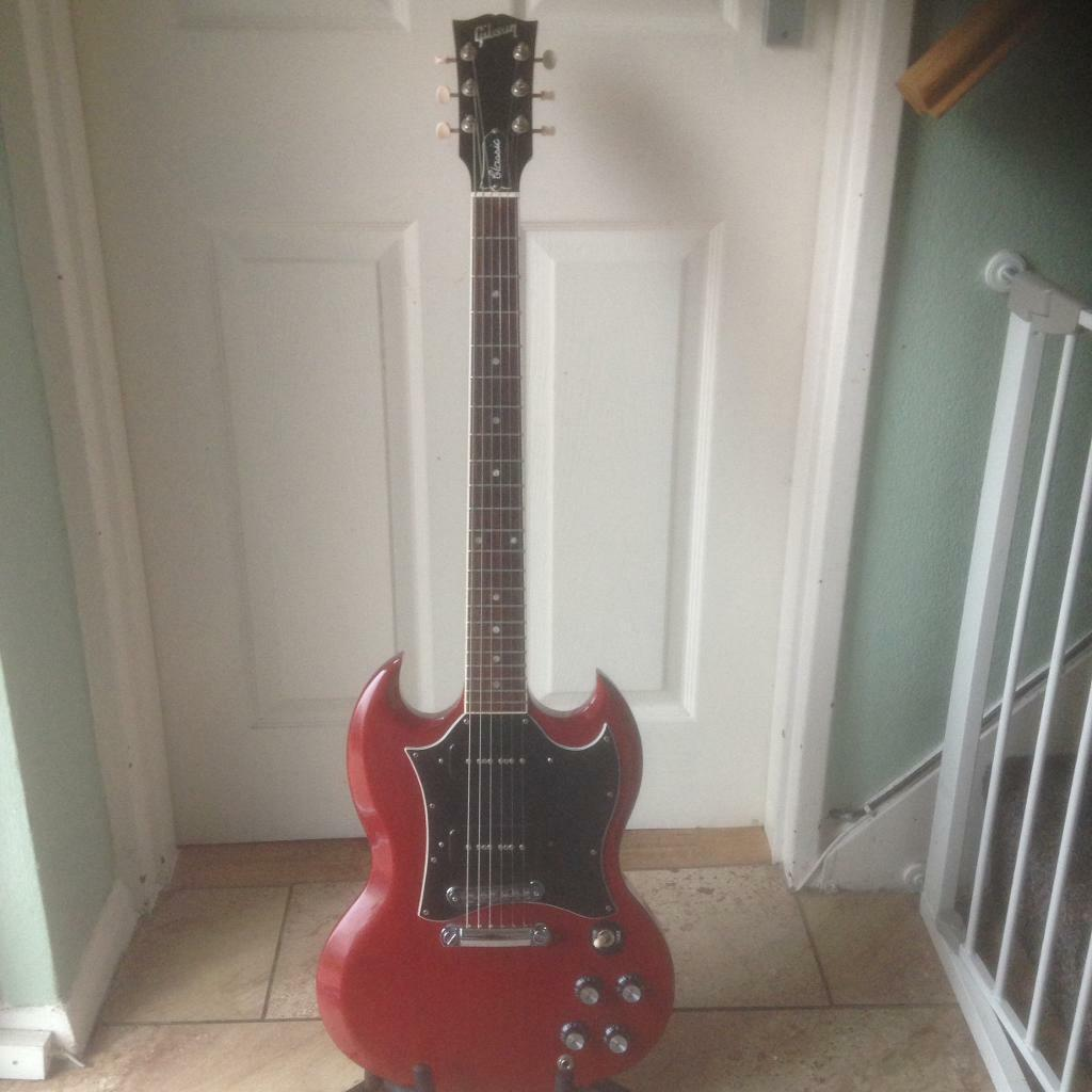 Gibson USA SG classic electric guitar Les Paul