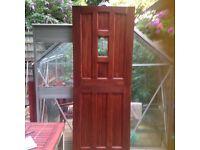 Hardwood stable door unused