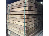 🌲High Quality Feather Edge Tanalised Timber Fencing Pieces/ Panels • Various Sizes