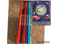 Disney movie collection books & audio discs