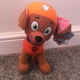 New paw patrol teddy