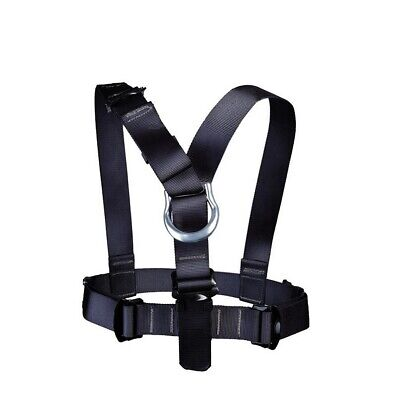 Black NEW Misty Mountain Milroc SAFETY CHEST HARNESS CLIMBING RAPPELING Tan