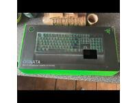 Razor ornata mechanical gaming keyboard