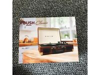 Brand new BUSH portable turntable