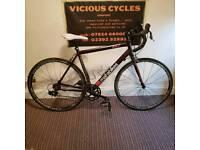 "Mafia bikes tr7 interceptor road bike racer 21"" 54cm frame fulcrum rims gator skins"