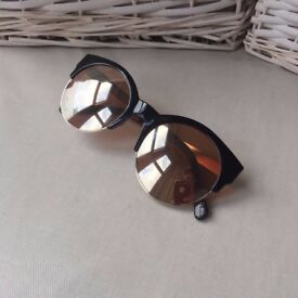 River Island mirrored sunglasses