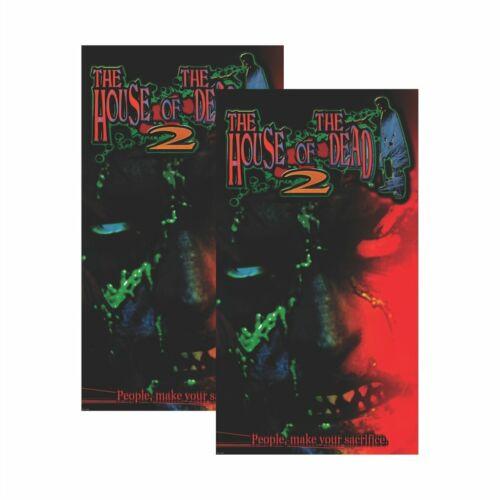House of the Dead 2 HOD 2 Arcade Side Art on Premium 3M Vinyl