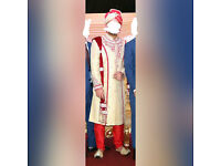 ***Mens wedding Sharwani / Asian Groom's wedding outfit for sale***