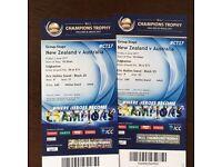 ICC Champions Trophy Tickets 2nd June Australia v New Zealand