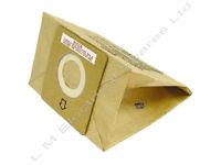 5 PACK OF DIRT DEVIL VACUUM CLEANER HOOVER PAPER DUST BAGS DD2210 DD2206 DD2214