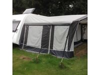 Dorema Royal 350 De Luxe Awning. Size 11. Good as new condition.