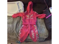 Girls adidas track suit 3-4yrs never been worn