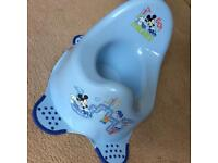 Mickey Mouse potty with anti tip feet