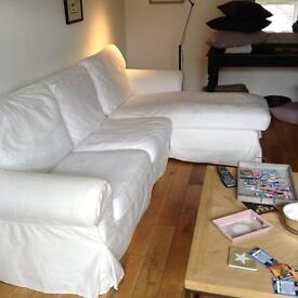 IKEA chaise lounge sofa in ex condtion