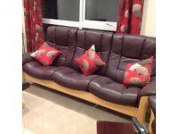 Stressless Buckingham 3 Seater Settee for Sale