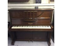 Stunning 1930 Squire & Longson Upright Overstrung Piano - DELIVERY AVAILABLE