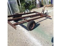 6x4 trailer chassis , ideal motorbike ,teardrop chassis
