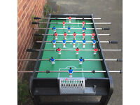 Table top football for sale virtually brand new used once ideal for present