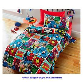 Marvel comic duvet set