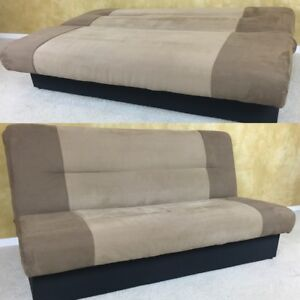 Microfiber Futon Storage For 180 Delivery Available