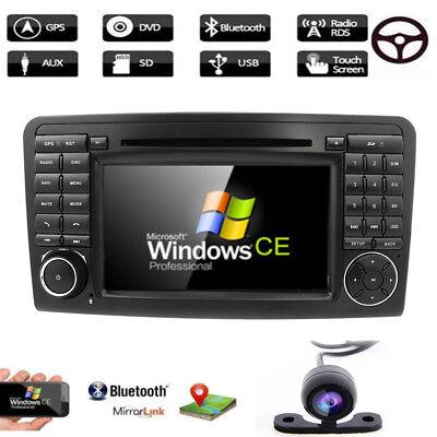 Autoradio Stereo GPS Navigation für Mercedes Benz ML GL W164 ML300 ML350 DVD