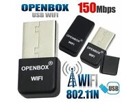 WiFi stick OPENBOX OVERBOX LIBERTVIEW SKYBOX MAG BOX ZGEMMA eyebox, VU+ Range Cloud IBOX EVO BOX