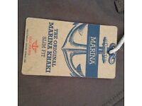 Marina khaki slim fit jeans 32x34 unworn